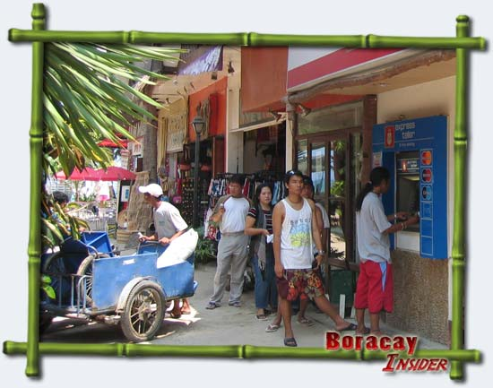 BPI ATM in Boracay